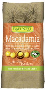 Rapunzel Macadamia-Nusskerne geröstet & gesalzen 50g