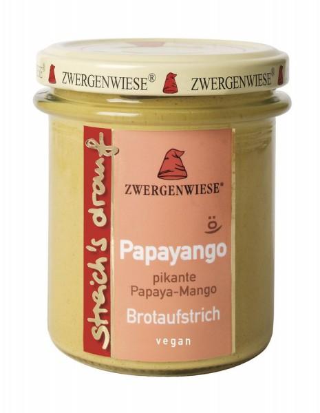 Zwergenwiese Papayango Papaya-Mango Brotaufstrich 160g