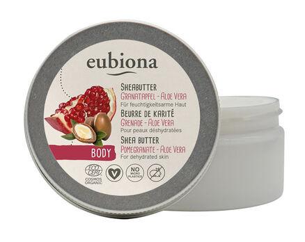 Eubiona Sheabutter mit Granatapfel & Aloe Vera Körperpflege 100ml