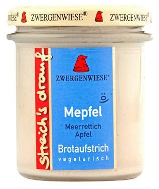 Zwergenwiese streichs drauf Mepfel 160g