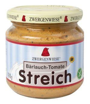 Zwergenwiese Streich Bärlauch-Tomate 180g