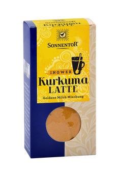 Sonnentor Kurkuma Latte Ingwer Gewürztee 60g