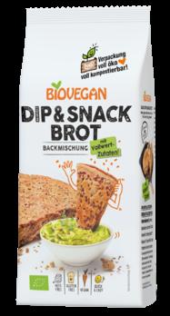 Biovegan Brotbackmischung Dip & Snack 330g