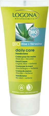 LOGONA Daily Care Handcreme mit Bio-Aloe und Verveine 100ml