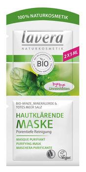 Lavera Hautklärende Reinigungsmaske Bio-Minze 10ml
