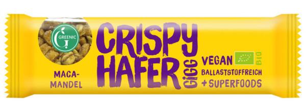 GREENIC Crispy Hafer Gigg Maca-Mandel 35g