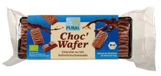 Pural Choc'wafer Waffelschnitte mit Vollmilchschokolade 110g