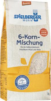 Spielberger 6-Korn-Mischung, Demeter 1kg