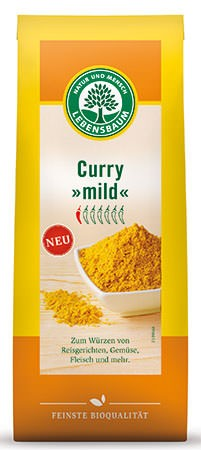 Lebensbaum Curry, mild 50g