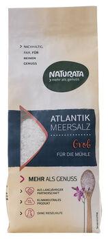 Naturata Atlantik Meersalz grob für die Mühle 500g