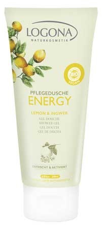 LOGONA Pflegedusche ENERGY Lemon & Ingwer 200ml