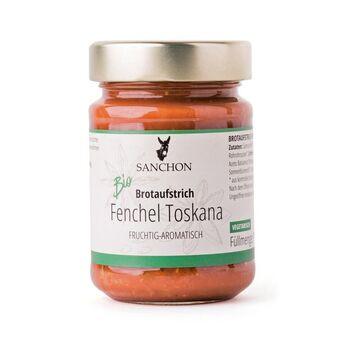 Sanchon Brotaufstrich Fenchel-Toskana 190g