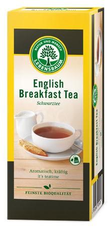 Lebensbaum Schwarztee English Breakfast Tea 20 Beutel