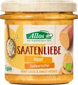 Allos Saatenliebe Hanf Süßkartoffel 135g