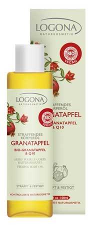 LOGONA Körperöl Bio Granatapfel & Q10 200ml