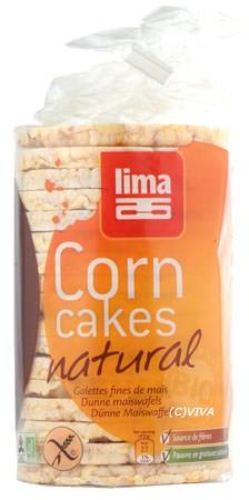 Lima Getreidewaffeln Mais 100%, dünn, glutenfrei 120g