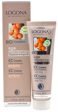 LOGONA Age Protection CC-Creme light beige 30ml/A