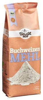Bauckhof Buchweizenmehl Vollkorn, glutenfrei 500g