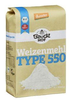 Bauckhof Weizenmehl hell Type 550 demeter 1kg