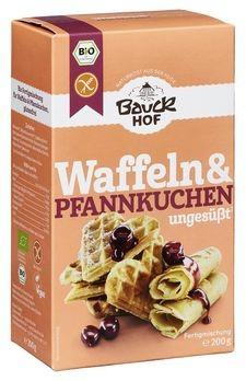 Bauckhof Waffeln & Pfannkuchen ungesüßt Backmischung 200g