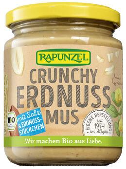 Rapunzel Erdnussmus Crunchy 250g