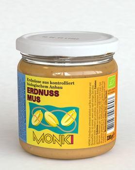 Monki Erdnussmus 330g