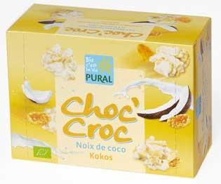Pural Choc'Croc Cornflakes Kokos mit weißer Schokolade 100g