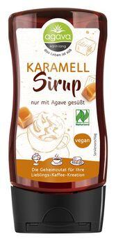 agava Karamellsirup Spenderflasche 350g