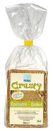 Pural Crusty Dinkel, Gourmet Knäckbrot 200g