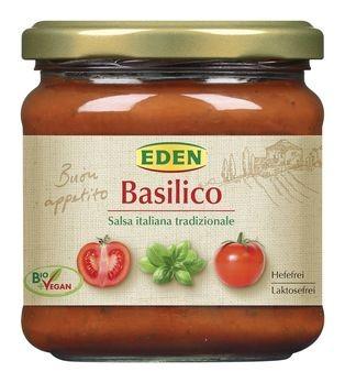 EDEN Tomatensauce Basilikum 375g