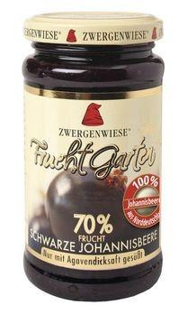 Zwergenwiese Schwarze Johannisbeere FruchtGarten 225g