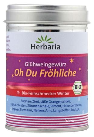 Herbaria Glühweingewürz Oh du Fröhliche 70g