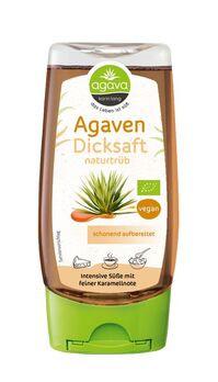 agava Agavendicksaft naturtrüb Spenderflasche 350g