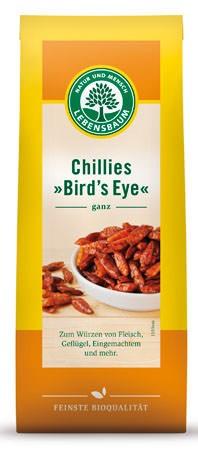 Lebensbaum Chillies Bird's Eye, ganz 20g