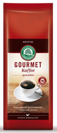 Lebensbaum Gourmet Kaffee kräftig, gemahlen 500g