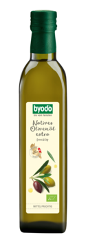 Byodo Olio di Oliva, fruttato - Olivenöl nativ extra, fruchtig 0,5l