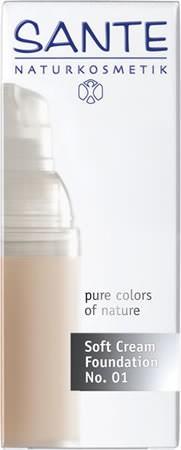 SANTE Soft Cream Foundation porcellan No. 01 30ml