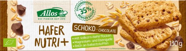 Allos AL Nutri + Keks Hafer Schoko 130g