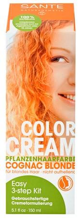 SANTE Colour Creme Cognac Blonde Pflanzenhaarfarbe 150ml
