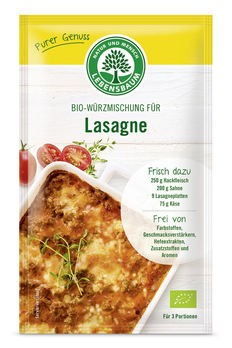 Lebensbaum Würzmischung für Lasagne 28g