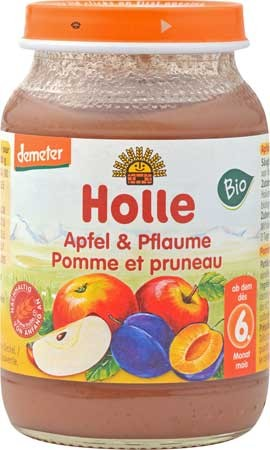 Holle Apfel & Pflaume demeter 190g