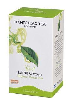 Hampstead Tea Grüntee Limette demeter 20Btl