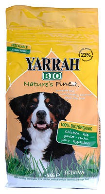 Yarrah Hundefutter Adult Dog food Chicken Groß 15kg