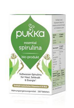 PUKKA Essential Spirulina Tabletten 150 Stück