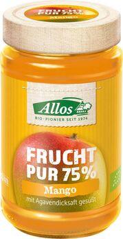 Allos Frucht Pur 75% Aufstrich Mango 250g