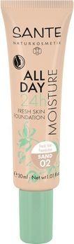 SANTE All Day Moisture 24h Fresh Skin Foundation 02 30ml