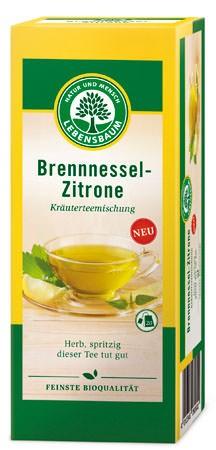 Lebensbaum Kräutertee Brennnessel Zitrone Aufgussbeutel 20 Beutel