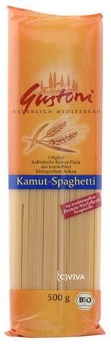 Gustoni Kamut Spaghetti bronze hell 500g