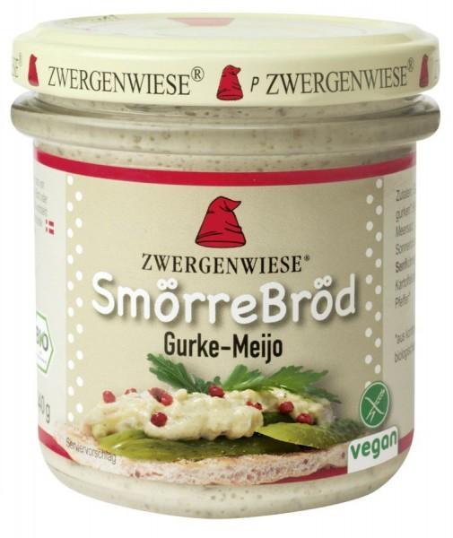 Zwergenwiese SmörreBröd Gurke Meijo 140g