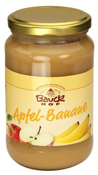 Bauckhof Apfel-Bananenmark ungesüßt 360g